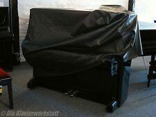 Klavierdecke Piano Decke 104 cm Schutz Hülle schwarz Skai gepolstert