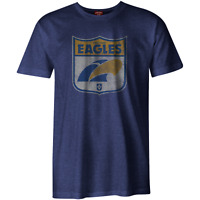 AFL Heritage Retro Tee Shirt - West Coast Eagles - Generous Sizes - BNWT