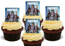Fortnite juego Stand Up Premium Tarjeta Cake Toppers