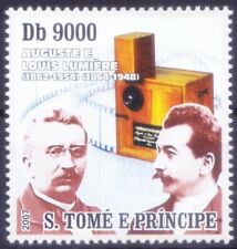 Sao Tome 2007 MNH, Lumiere Brothers, Invented 1st Color motion Pictures