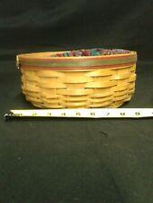 Longaberger 2000 Darning Basket and Liner only