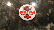 Vintage Do The Zoo And Help Rebuild It Too Buffalo NY Button Pinback Pin