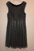 ADRIANNA PAPELL LACE WOMEN DRESS SIZE 14