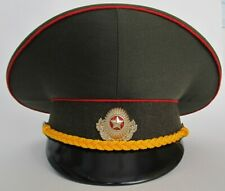 Sz.55 Original ex-Soviet ex-USSR Belarus Army Officer Cap + badge
