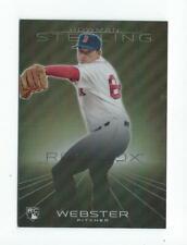 2013 Bowman Sterling Refractors #24 Allen Webster Red Sox 080/199