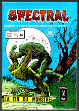 SPECTRAL n°3 # LA FIN DU MONSTRE # 1978 COMICS POCKET