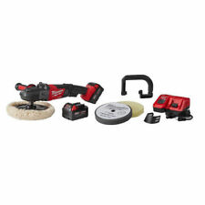 "Milwaukee 2738-22P M18 FUEL 7"" Variable Speed Buffer Polisher Kit W/ 2 Batteries"
