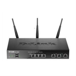D-Link DSR-1000AC Networking Wireless 1000AC Dual WAN 4-Port Gigabit VPN Router