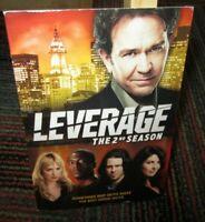 LEVERAGE: THE SECOND SEASON, 4-DISC DVD SET, 15 EPISODES, SEASON 2, TIMOTHY H.