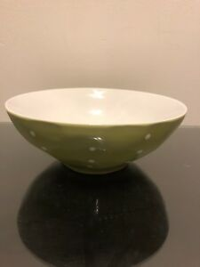 Maxwell And Williams Sprinkle Serving Bowl, Lime