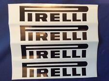 4x Pirelli Vinyl Decals - Slotcar trackside - Scalextric Carrera SCX Ninco 1/32