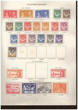 Northern Rhodesia - George VI MINT STAMPS FROM SG Printed Album - values to 1 sh