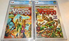 1973 Marvel Strange Tales #169 & 170 Brother VOODOO First/Second App CGC 7.0/7.5