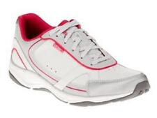 Women's Vionic ZEN Walking Shoes With Orthaheel Technology White Pink US 8.5
