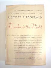 TENDER IS THE NIGHT by F. SCOTT FITZGERALD 1953 HC w/ JACKET FINAL VERSION RARE