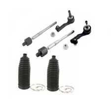 BMW E90 E92 2wd IN + OUT Tie Rod Assy & Boot Kit Steering Rack Link Lemfoerder