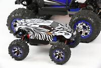 Custom Body Zebra Style for Traxxas 1/16 Summit Mini Truck Car Shell Cover 1:16