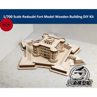 1/700 TMW Bastion Fort Laser Cut Wood Model