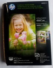 Used HP CR759A Everyday Glossy Photo Paper - 100 Sheets 4 x 6 in