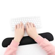 Black Gel Wrist Rest Support Comfort Pad for PC Keyboard Raised Platform OC