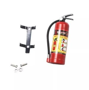 Rc car scale crawler fire extinguisher with bracket scale rc accessories 1/10