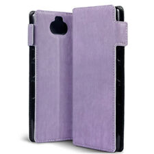 Sony Xperia 10 PLUS High End  Low Profile Wallet ION ™ Book Case PURPLE MK5