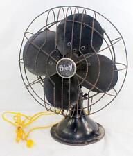 "Vintage Diehl 3-Speed Oscillating 12"" Electric Fan"