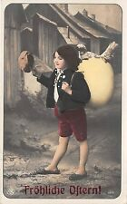 More details for bg20005 boy with egg   ostern easter germany