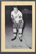 1944-63 Beehive Group II Detroit Red Wings Hockey Photos #178B Gordie Howe