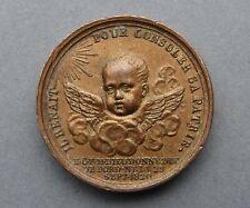 Médaille, Petit module. Naissance du Duc de bordeaux. 1820. Par Barree.