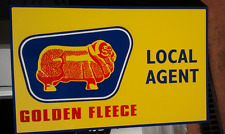 GOLDEN FLEECE LOCAL AGENT ENAMEL SIGN (MADE TO ORDER) #218
