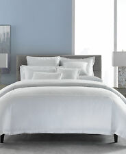 Nip Hotel Collection White on White Embroidered Frame Full/Queen Comforter