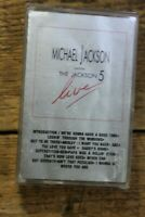 Michael Jackson with the Jackson 5 LIVE 1973 motown cassette tape album