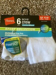 hanes boys socks