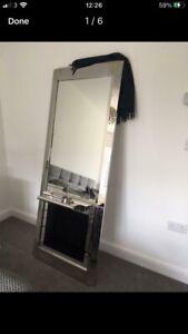 Hair Salon Styling Station Mirror