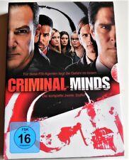 CRIMINAL MINDS DIE KOMPLETTE 2 STAFFEL  (DVD)  6 DVD´S