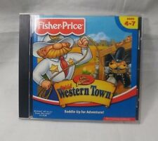 Great Adventures by Fisher Price Wild Western Town PC CD ROM Game Saddle Up