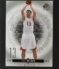 2014-15 SP Authentic #48 Yao Ming - NM-MT