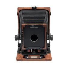 """Shen Hao SH PTB45 Walnut Wood Field Folding 4X5"""" Large Format Film Camera New"""