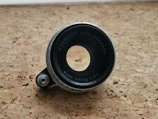Carl Zeiss Pancolar 50mm f2 for Exakta 35mm SLR DSLR Micro 4/3 w/adapter