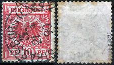 DR 47 BA Strassburg, 10 PF. CORONA/Adler, Gepr. ZENKER BPP