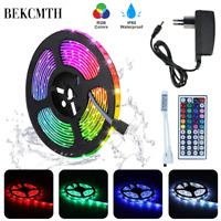 RGB LED bande lumineuse 5M 10M étanche RGB bande DC 12V ruban diode ampoules LED