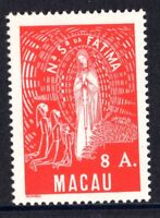 Macau Macao 336 Lady of Fatima 1949 8 A MNH Mint Never Hinged