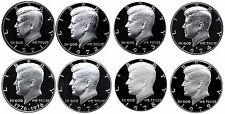 1971-1979 S Complete Set Kennedy Half Dollars Gem Proof Run 8 Coins US Mint