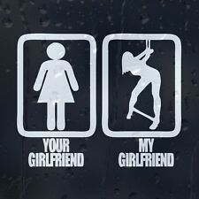 Funny Your And My Girlfriend Car Decal Vinyl Sticker For Window Or Bumper