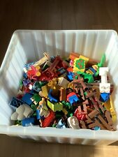 Lego DUPLO bunt gemischt Steine, Figuren und   Platten Konvolut