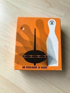 Vintage-Tischkegelspiel Romba, Ersatzpins und Kreisel, Fa. Vauen, Look!!