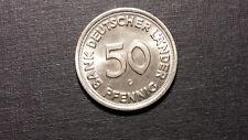 Münze Coin Bank Deutscher Länder 50 Pfennig 1949, G, st., unc.