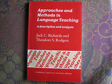 Approaches and Methods in Language Teaching FIRST EDITION