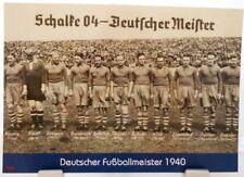 FC Schalke 04 + Deutscher Fußball Meister 1940 + Fan Big Card Edition F65 +